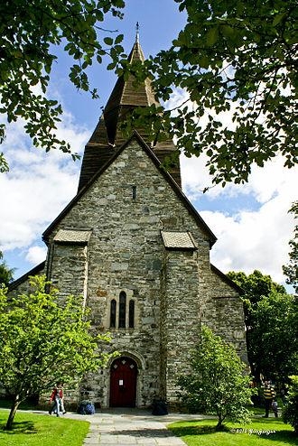 Voss - View of Voss Church