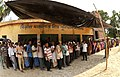 Voters standing in queue to cast their votes at a polling booth, during the fifth phase of West Bengal Assembly Election, at Baruipur (west), South 24 Pargana, West Bengal on April 30, 2016.jpg