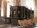 Vreta kloster Church pulpit.jpg