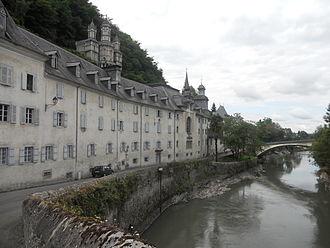 Lestelle-Bétharram - General view of the sanctuaries of Bétharram