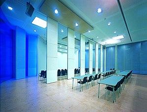 Room divider - Image: WMF Konferenz Raumteiler