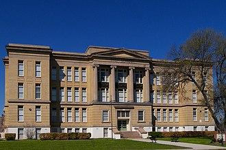 Waco High School - Former Waco High School in 2012