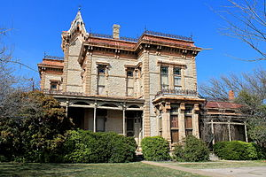 National Register of Historic Places listings in Wise County, Texas - Image: Waggoner 1