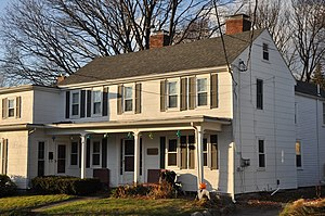 Emerson–Franklin Poole House - Image: Wakefield MA Emerson Franklin Poole House
