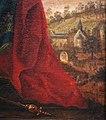 Walberberg im 18. Jh., Zisterze, St. Walburga u. alter Bergfried.jpg