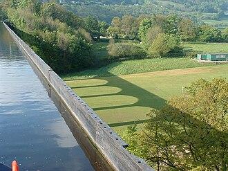 Pontcysyllte Aqueduct - Image: Wales C0171