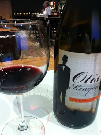 Syrah - A New World wine labeled as Syrah