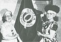 Wanda Frey Joiner and Quota International Flag.jpg