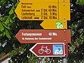 Wanderwegweiser Bahnhof Koblenz.JPG