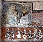 Wappenfries der Gesellschaft mit dem Esel in der Heiliggeistkirche Heidelberg. 01.jpg