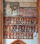 Wappenfries der Gesellschaft mit dem Esel in der Heiliggeistkirche Heidelberg. 03.jpg