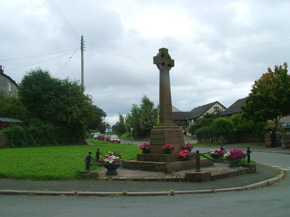 War Memorial, Culgaith - geograph.org.uk - 938739.jpg