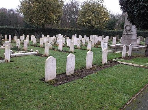 War graves in Richmond Cemetery (06)