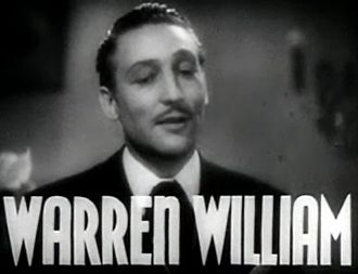 Warren William - from the trailer for the film Goodbye Again (1933)