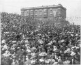 Wash. - Seattle - large crowd on 2nd Ave. and Virginia St., U.S. Atlantic Fleet Day. May 26, 1908 LCCN2007678196.tif