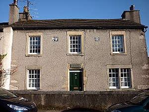 Listed buildings in Warton, Lancaster - Image: Washington House, Warton