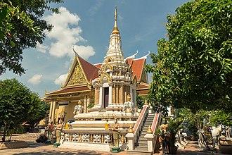 Religion in Cambodia - Wat Botum in Phnom Penh.