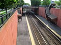 Waverley station from Trapelo Road, May 2012.JPG