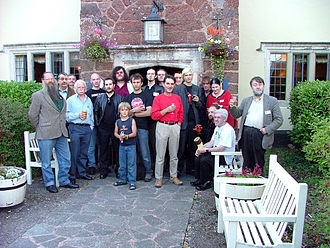 Jonathan Downes - Downes and other attendees of the Weird Weekend, 2005
