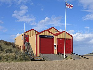 Wells-next-the-Sea Lifeboat Station - Wells lifeboat station.