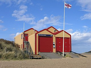 Wells-next-the-Sea Lifeboat Station lifeboat station in Norfolk, UK