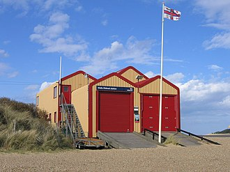 Wells-next-the-Sea Lifeboat Station - Wells lifeboat station