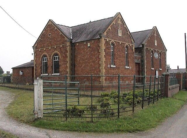 Welsh End Methodist Chapel, Whixall, Shropshire.