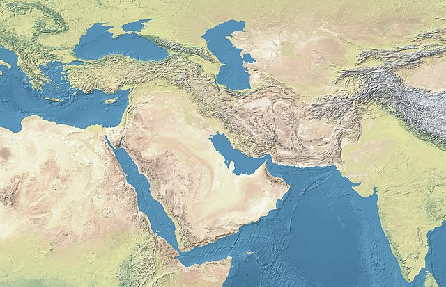 Jebel Bishri is located in West and Central Asia
