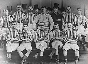 1888 FA Cup Final - West Bromwich Albion, winning side
