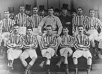 West Bromwich Albion F.C. - The Albion team of 1888, FA Cup winners and Football League founder members