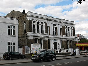 Metropolitan Borough of Greenwich - Image: West Greenwich Community Centre geograph.org.uk 1464283