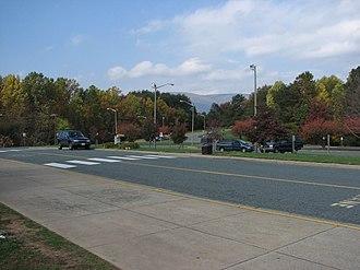 Western Albemarle High School - School grounds
