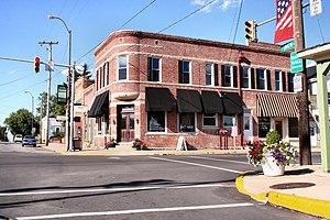 Westfield, Indiana - Downtown Westfield in 2005
