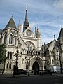 Westminster, The Royal Courts of Justice, Strand, WC2 - geograph.org.uk - 955872.jpg