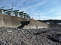 Westward Ho^ , Stony Beach, Wall and Steps - geograph.org.uk - 1490580.jpg