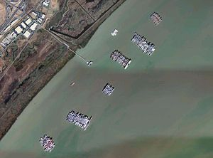USGS aerial photo montage of