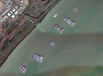 Suisun Bay Reserve Fleet - Image: Wfm suisun reserve fleet