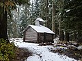 Whaleback Snow Survey Cabin topographic - Rogue River NF Oregon.jpg