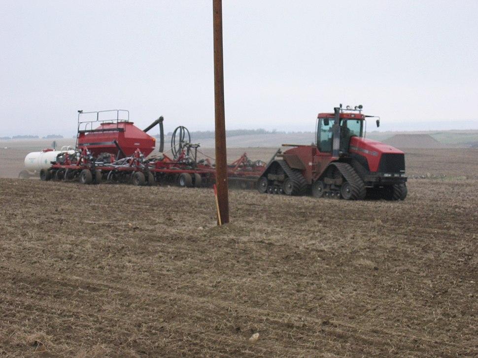 Wheat Planting Rig May 2007