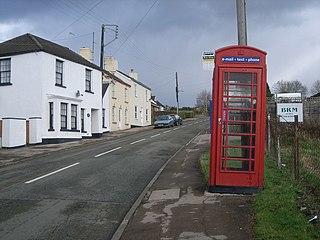 Whitecroft Human settlement in England