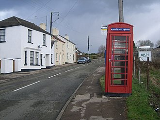 Whitecroft - Image: Whitecroft telephone kiosk geograph.org.uk 625526