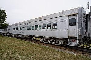 Wichita Falls Railroad Museum - Image: Wichita Falls Railroad Museum October 2015 08 (Chicago, Burlington and Quincy coach Silver Falls)