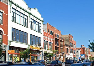 Wicker Park, Chicago - Wicker Park Historic District.