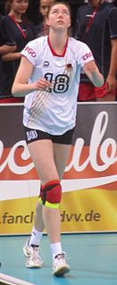 Wiebke Silge German volleyball player