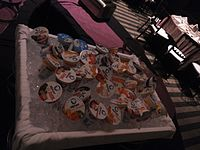 Wikimania 2015-Thursday-Food for hungry Hackathon people (4).jpg