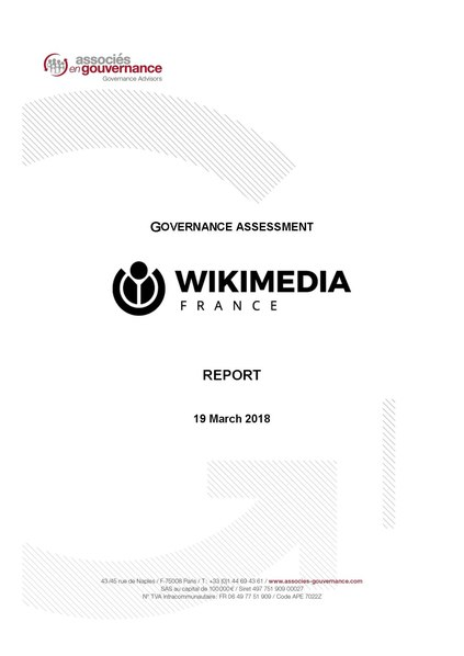 File:Wikimedia France - Governance Assessment Report - 2018.pdf