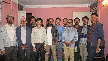 Wikimedians of Nepal 17th Birthday Celebration (02).jpg