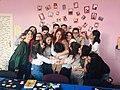 Wikipedians of Stepanakert WikiClub.jpg