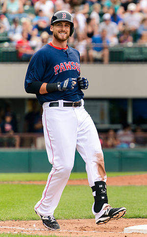 Will Middlebrooks - Middlebrooks with the Pawtucket Red Sox in 2014
