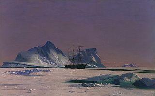 Scène dans l'Arctique